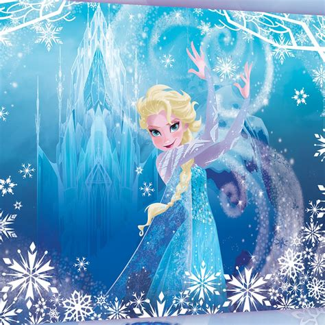 stickers muraux la reine des neiges disney frozen elsa canvas great kidsbedrooms the children bedroom specialist