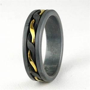 Black Gold Mens Wedding Rings Wedding Promise Diamond
