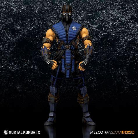 Mortal Kombat X 6 Sub Zero 6 Figure Mezco Toyz
