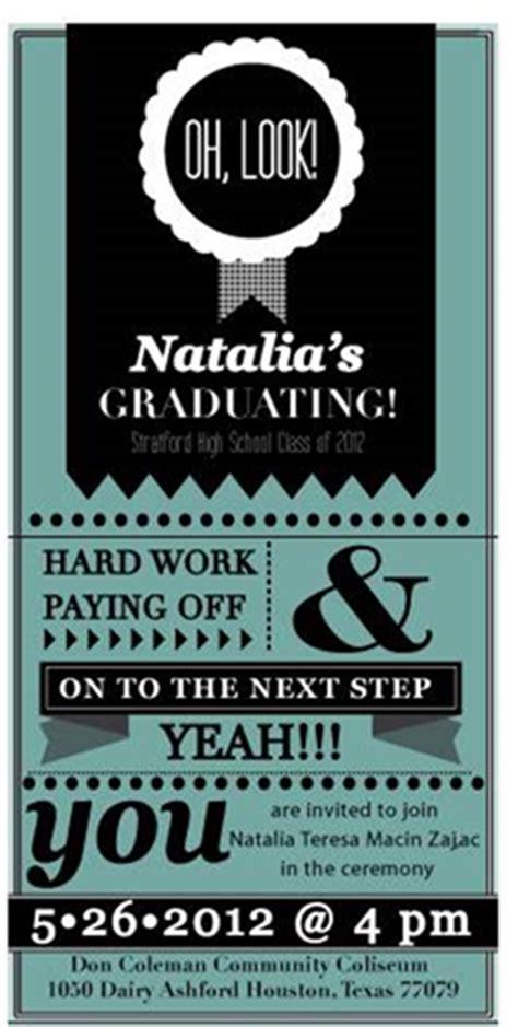 ultra cool graduation invitation cards