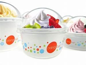 OrangeCup Frozen Yogurt — The Dieline | Packaging ...