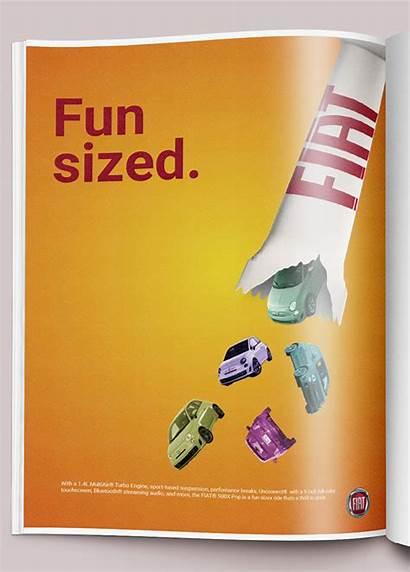 Ad Fiat Magazine Fun Behance