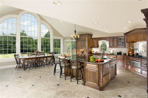 """""""bringing The Outdoors In"""" Kitchendining Great Room"""