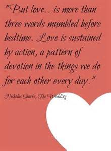Love More than Words Quotes