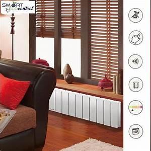 Radiateur Inertie Applimo : pegase smart ecocontrol plinthe radiateur inertie fonte ~ Premium-room.com Idées de Décoration