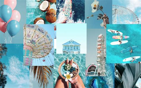 4k blue aesthetic macbook wallpaper