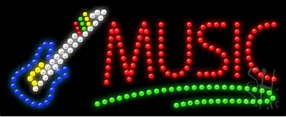Led Sign Signs Instruments Animated Neon Enlarge