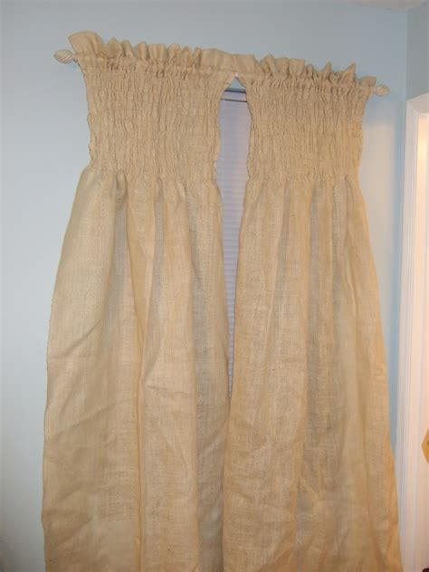 How To Sew Lined Curtains by Old Soul Diy Burlap Curtains