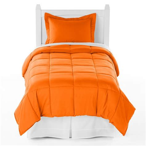 orange crush comforter xl size