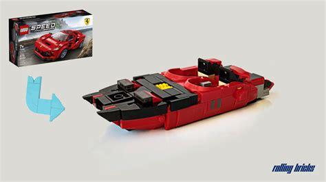 New listinglego 75890 speed champions ferrari f40 100% complete with instructions no box. Lego® Instructions 76895 Ferrari F8 Tributo Alternative Build - Speedboat - Lego Instructions ...