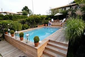 Piscine Semi Enterrée Coque : piscine semi enterr e gironde ~ Melissatoandfro.com Idées de Décoration