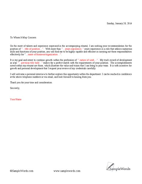 to whom it may concern cover letter to whom it may concern cover letter slebusinessresume