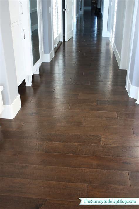 Dark Wide Plank Wood Floors  Home Design Elements
