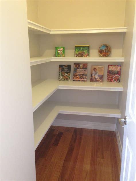 walk  pantry    pinterest shelves