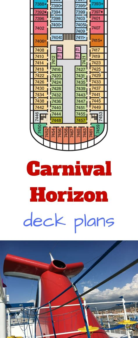 Carnival Deck Plan Photos by Carnival Horizon Deck Plans Cruise Radio