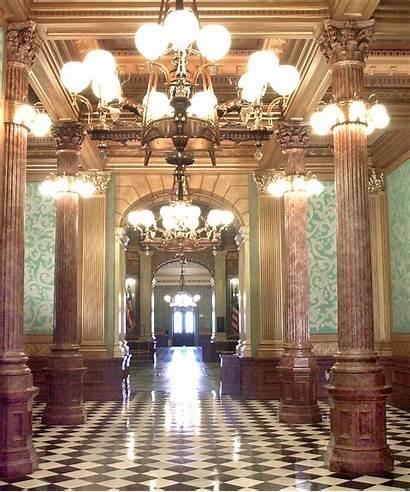 Senate Michigan Capitol State Building Interior History