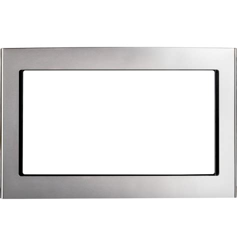 ge stainless  microwave oven trim kit jxsfss