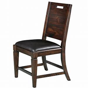 Pine Hill Wood Dining Chair (each) in Rustic Pine Humble