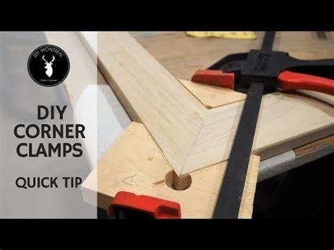 diy corner clamps quick tip youtube