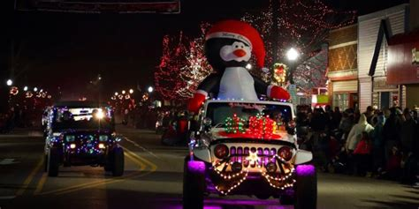 jeep christmas decorations parade of jeeps field reporter jpfreek