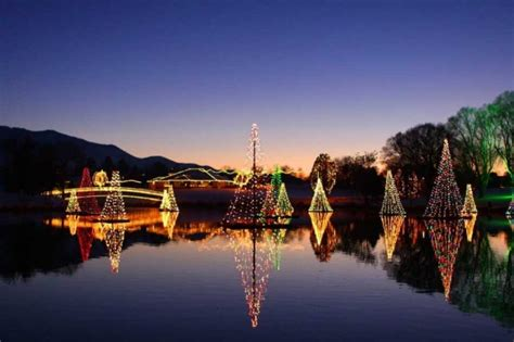 places  utah  holiday lights