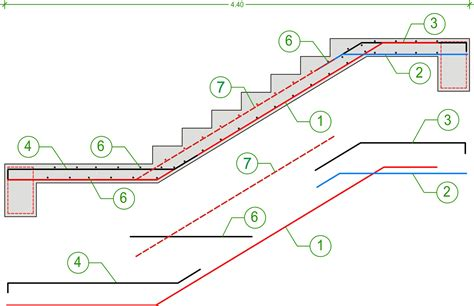 Floor Plan Curtailment by Concrete Stair Reinforcement Pictures To Pin On Pinterest