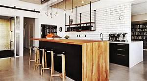 Bar Cuisine Ouverte : cuisine ouverte avec bar nos plus belles inspirations en ~ Melissatoandfro.com Idées de Décoration