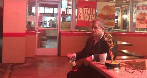 patton oswalt emmy patton oswalt dined alone at arby s in a bittersweet post