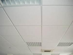 Dalle Pour Plafond : prix pose faux plafond dalle maison travaux ~ Edinachiropracticcenter.com Idées de Décoration