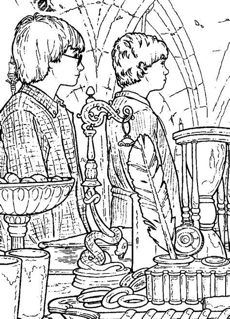 Kleurplaat Harry Potter En De Relieken De Dood by Kleurplaat Harry Potter En De Geheime Kamer N