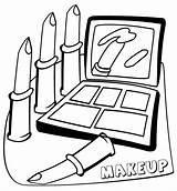 Coloring Makeup Printable Barbie Eye Stencils sketch template
