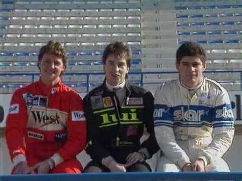 Michael Schumacher, Heinzharald Frentzen, Karl Wendlinger