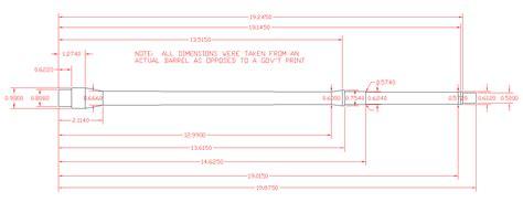 ar barrel profile dimensions