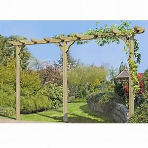 Pergola Bausatz Holz : holz pergola torbogen rankhilfe rosenbogen blumenbogen ca ~ Articles-book.com Haus und Dekorationen