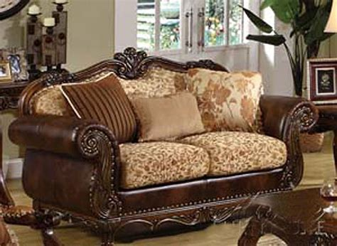 Traditional Style Loveseats by Traditional Sofas 3 Pc Traditional Style Formal Living
