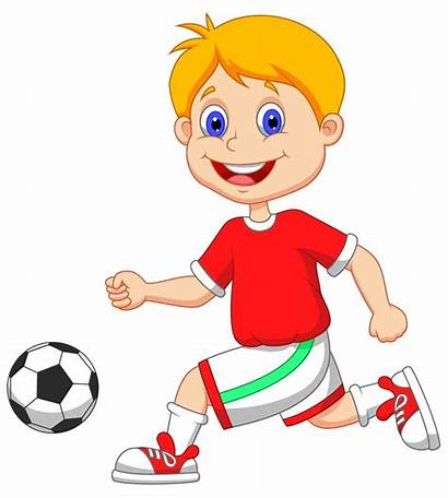 Clipart Football Playing