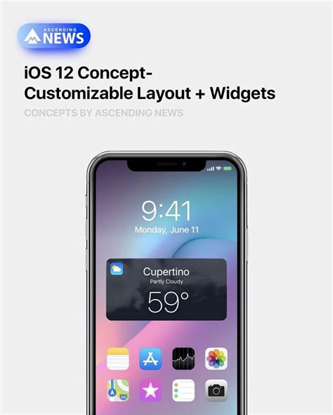 stunning ios 12 concept proposes guest mode always on