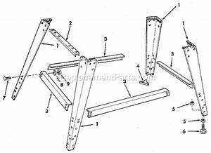 Craftsman 113248320 Parts List And Diagram