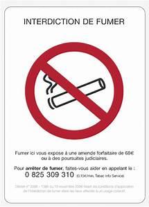 Panneau Interdiction De Fumer : panneau d 39 affichage interdiction de fumer la guerilla ~ Melissatoandfro.com Idées de Décoration