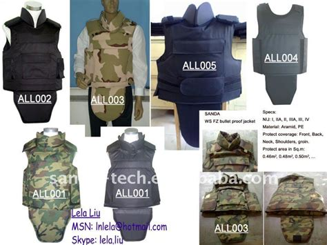 Ws Fz Nij 0101.06 Iiia Kevlar Bulletproof Vest Shop For