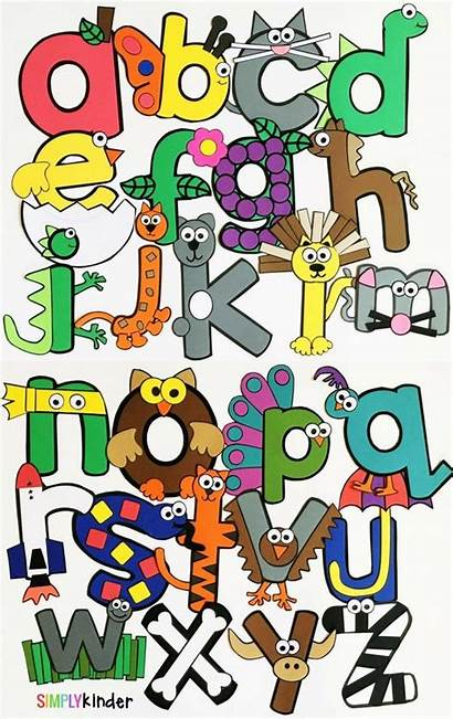 Alphabet Letter Crafts Kinder Simply Preschool Kindergarten