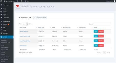 wpgym wordpress gym management system  dasinfomedia