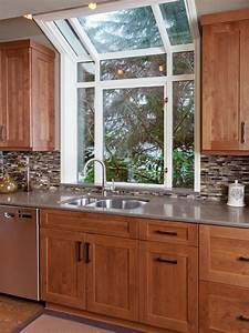 photos hgtv With kitchen designs with window over sink