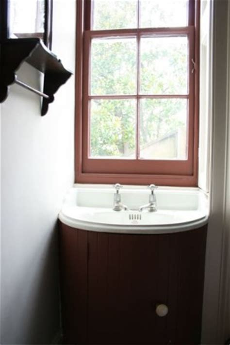 unexpected details window  bathroom sink lkae