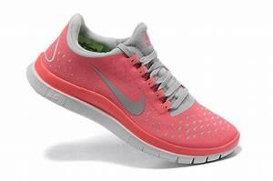 nike free run 3.0 coral pink