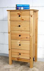 Wschekommode Flur Kommode Schubladen Schrank Massiv Holz