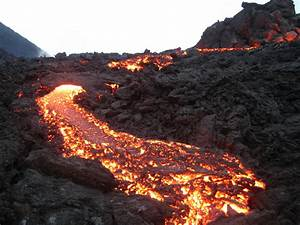 Lava flow from the volcano wallpapers and images ...