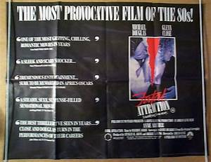 Fatal Attraction - Original Cinema Movie Poster From ...