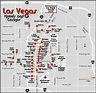 Map of Las Vegas hotels and casinos. Las Vegas hotels and ...