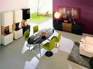 salle a manger moderne avec des meubles sympas 29 idees With meuble salle À manger avec chaise salle a manger noire design